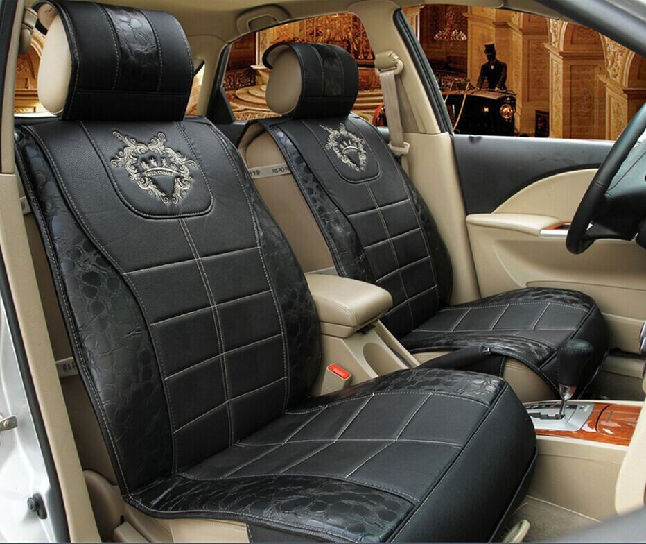2015 newest big promotion hot sale new car cushions surrounded by large car seat covers leather hot sale(China (Mainland))