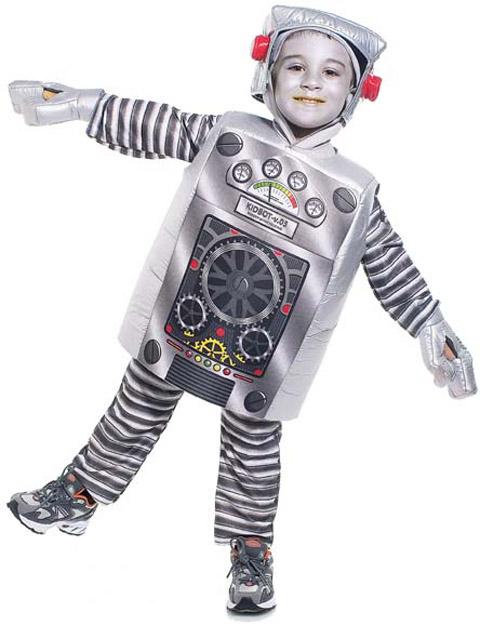 Как сделать робота ребенку 10 лет