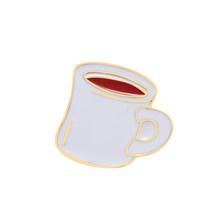 Модные броши для чашек для женщин и мужчин, высокое качество, кофейная машина, Термокружка, питьевой фонтан, чайник, индивидуальная эмалиров...(China)