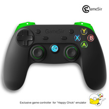 GameSir G3s 2.4Ghz Wireless Bluetooth Gamepad Controller for Android TV BOX Smartphone Tablet PC for Free Shipping(Green)