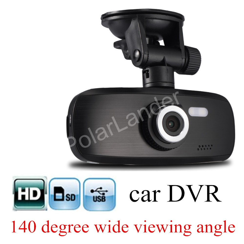 "2.7"" inch LCD screen Car HD DVR Video Recorder Camera G1W Vehicle traveling Recorder G-Sensor Motion Detection free shipping(China (Mainland))"