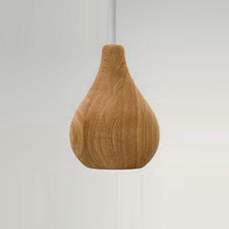 Buy Simple Ikea Modern Pendant Lights Wood Stone Lamp Shade