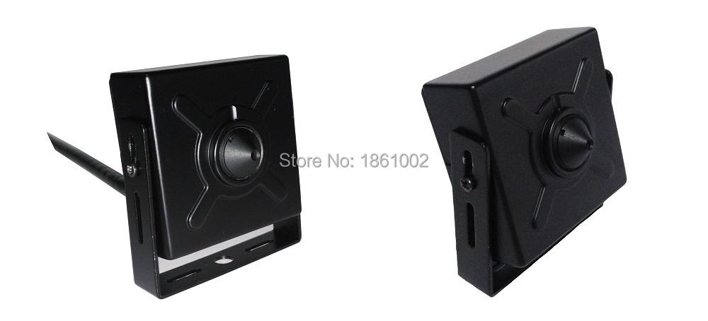 Pinhole Micro 3.7mm Lens 720P 1.0MP CCTV Mini IP Camera P2P Home security system cctv surveillance Mobile phone monitoring(China (Mainland))