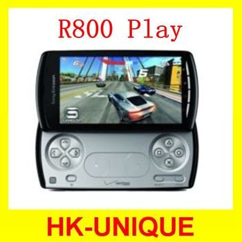Original Sony Ericsson Xperia PLAY Z1i R800 mobile phone 5MP camera WiFi GPS Android OS 4 inch 3G network Free shipping
