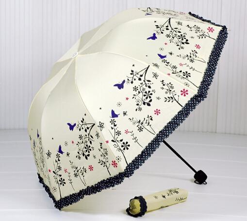новые одного ПК продать кружевной зонтик 4 цвет Солнечный umbrlla для женщин, цветной зонтик раза зонтик t013