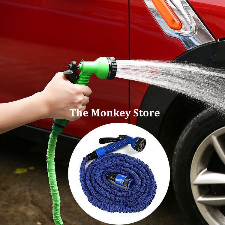 Free Shipping 280CM Expandable Magic Flexible Hose Water Garden Car Pipe Plastic Hoses To Watering With Spray Gun F1715(China (Mainland))
