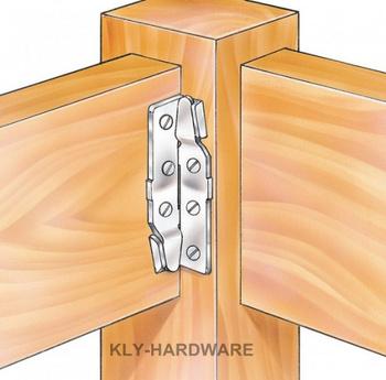 6 inch Bed Rail Fastener,Bed Rail Brackets,Corner Rail Fitting (set of 4)