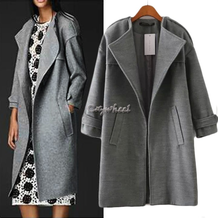 If you've ever enjoyed the roomy fit of something you've snuck out of a guy's closet, then you'll have a new favorite find in this women's wool-blend boyfriend coat from Metaphor. With its relaxed cut, versatile solid color and warm feel, this coat shows off style inspired by menswear, but a design that is stylish and all about you.