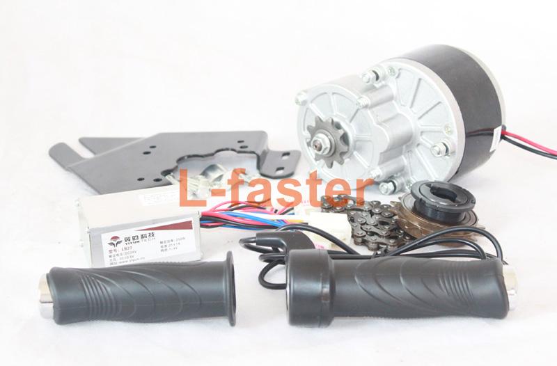 24v 250w electric bicycle motor kit e bike conversion kit for Diy electric motor repair