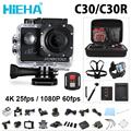 Hieha C30 C30R Action Camera 1080P 60fps 4K Wifi Ultra HD 16mp Outdoor Sports Camera NTK96660