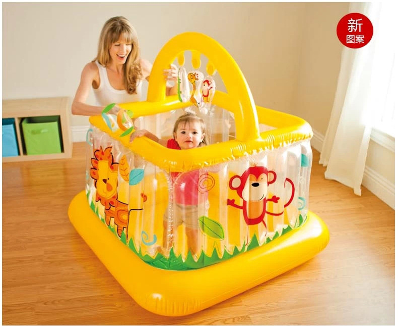 FREE SHIPPING 2016 New Style Crib inflatable thickening baby toddler bed guardrail child Baby Playpens fence toy gift(China (Mainland))