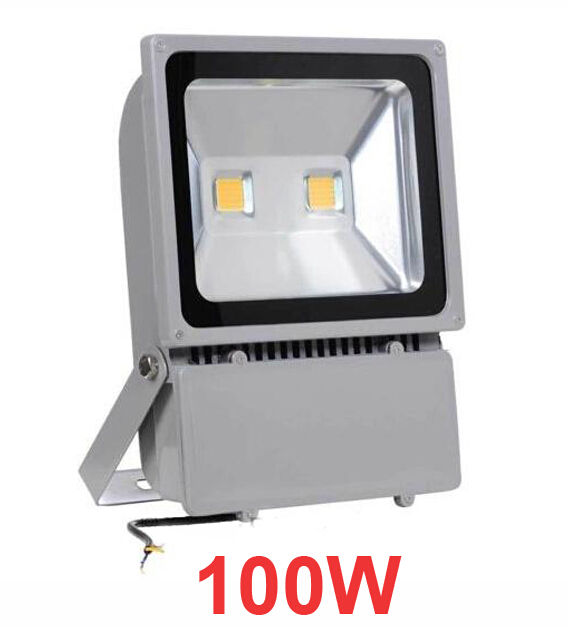 AC 85-265V 100W LED Floodlight Outdoor LED Flood light lamp Waterproof industrial lamps Advertising lights(China (Mainland))