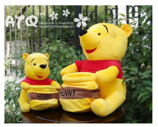big cute happy bear plush toy little bear toy wih pocket birthday gift about 50cm(China (Mainland))