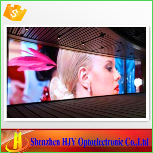 Professional p6 indoor full color glass window led display(China (Mainland))