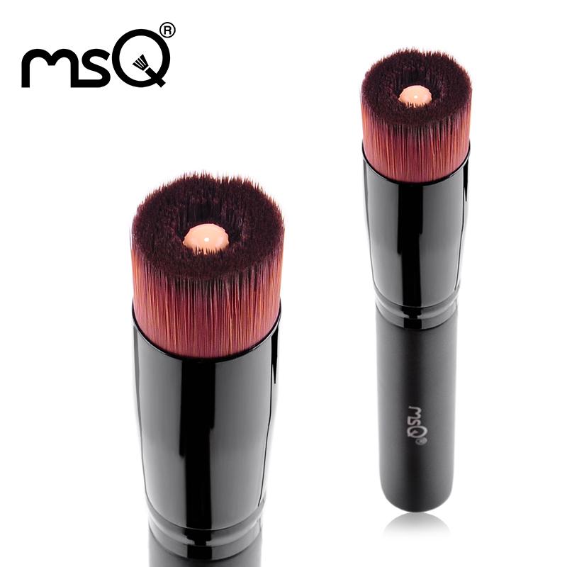 2015 MSQ Liquid Foundation Brush Fashion Powder Makeup Brushes Set Kabuki Brush Premium Face Make up Tool For Beauty(China (Mainland))