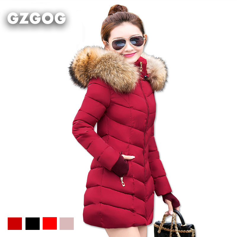 Women Parka down cotton jacket 2016 Winter Jacket Women thick Snow Wear Coat Lady Clothing Outerwear Female Jackets Parkas(China (Mainland))