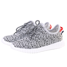 2016 beautiful summer couples shoes kanye west schuhe for men women yeezy valentine boost shoes zx flux 350 moon rock 16016(China (Mainland))