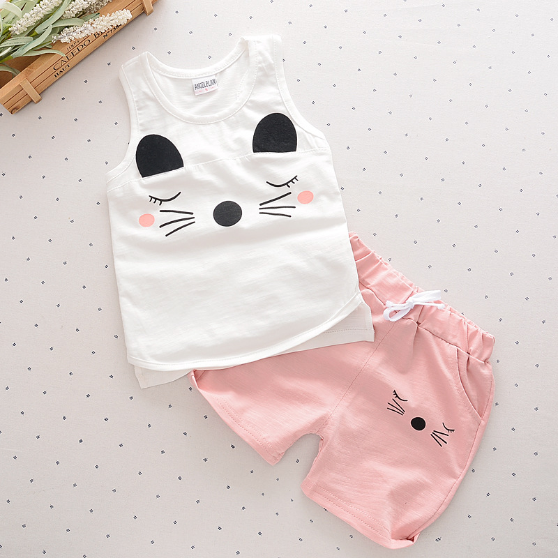 Baby boy clothes 2016 summer baby girl fashion clothes set t-shirt+pants suit baby tracksuit newborn sport infant 2pcs suits(China (Mainland))