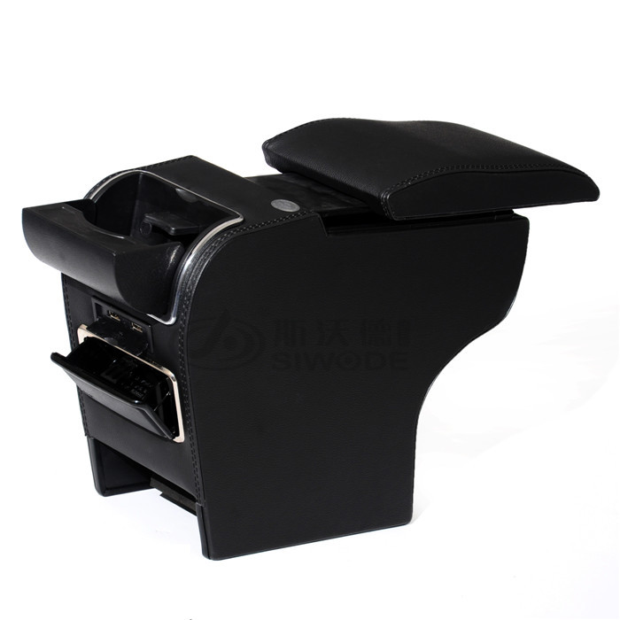 Jimny car armrest box Special Vehicle Armrest Box Auto Accessories 9 function USB hidden cup seat drilling - V STAR E-COMMERCE store