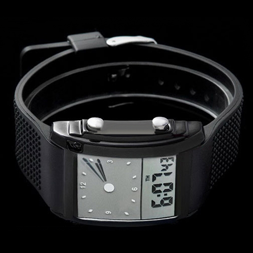 Fashion Unisex Womens Mens Digital LED Chronograph Quartz Sport Wrist Watch 5UYI