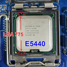 Socket 775 Xeon E5440 SLANS Quad-Core 2.83 ГГц 12 МБ 1333 МГц работает на LGA 775 материнская плата без требуется адаптер(China (Mainland))