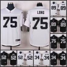 SALE Elite men Oakland Raiders 89 Amari Cooper 75 Howie Long 52 Khalil Mack 34 Bo Jackson 32 Marcus Allen 28 Latavius Murray E-5(China (Mainland))