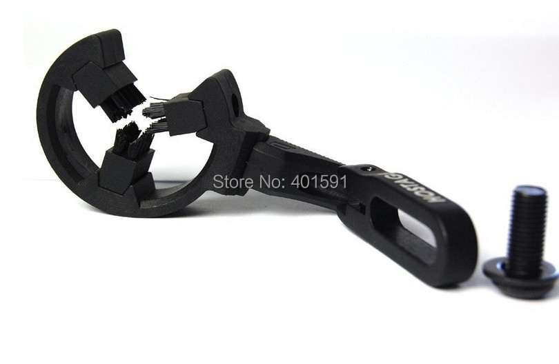 a archery brush capture arrow rest left and right hand user available for compound bow archery