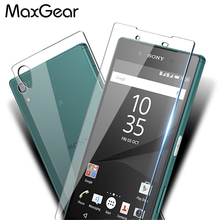 Buy Front +Back Tempered Glass Sony Xperia Z5 Screen Protector Explosion-Proof Film Xperia Z5 / Z5 Compact /Z5 Premium for $1.82 in AliExpress store