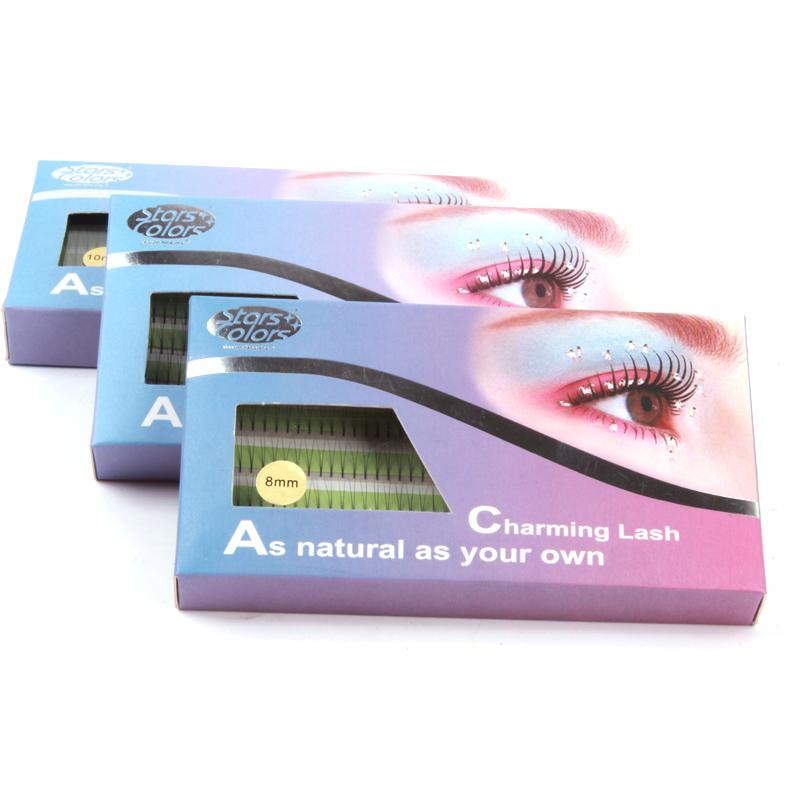 Hot Makeup Natural False Eyelashes Soft Long Planting Individual Fake Eye Lashes 8mm 10mm 12mm(China (Mainland))