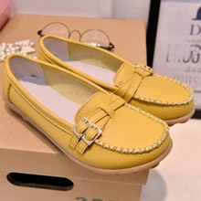 New Trendy Flats Women Shoes Loafers Moccasins Summer Autumn Ladies Shoes Women Flats Oxford Shoes For Women Sapato Feminino(China (Mainland))