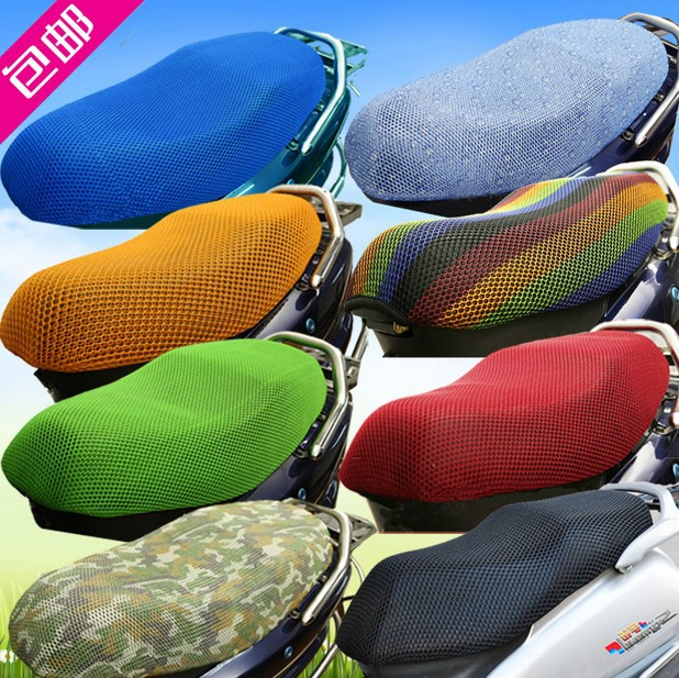 sun block Cool Motorcycle sunscreen seat cover Prevent bask in seat scooter sun pad waterproof Heat insulation Cushion protect(China (Mainland))