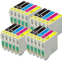 20x T0711 T0712 T0713 T0714 Ink cartridges for Epson stylus DX8400 DX8450 DX9400 DX9400F with chip
