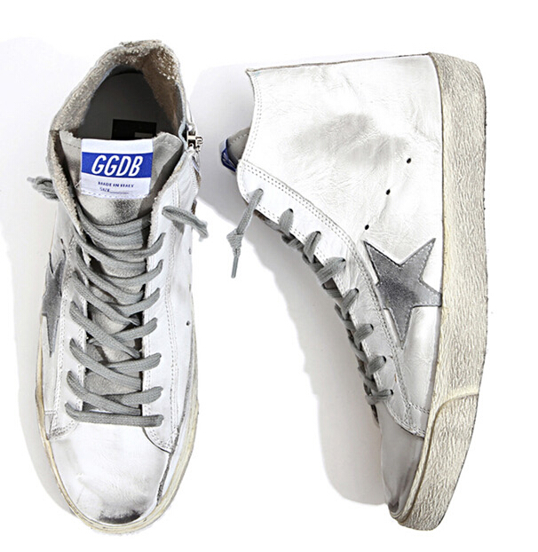 Italy Brand Golden Goose Bass Superstar Shoes Genuine Leather Men Women Casual Shoes GGDB Argento Scarpe Di Marca Uomo