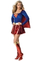 Sexy woman Superhero adult costume fancy dress Outfit Halloween Super girl Superwoman Costume