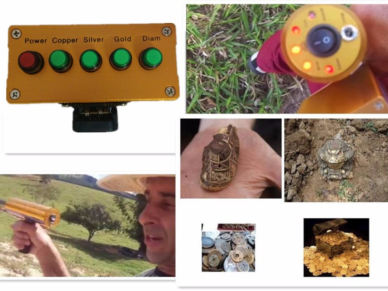 Underground Metal Detector Finder AKS Long Range Copper,Silver,Gold and Diam Gold Locator