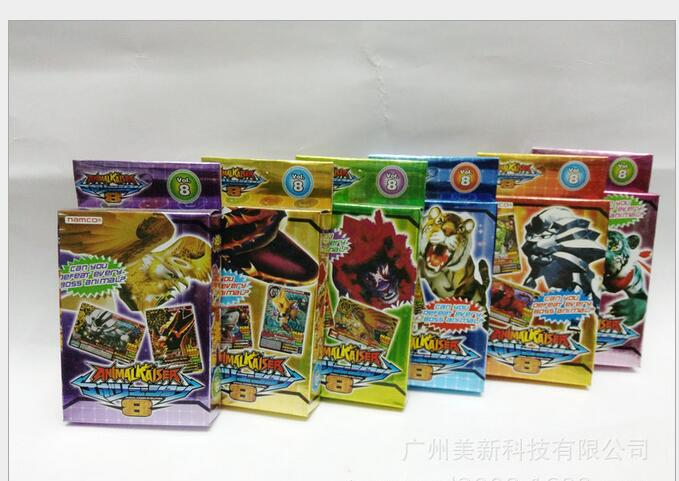 500pcs/lot Beasts war card Animal Kaise card English beasts war game card card box Free Delivery(China (Mainland))