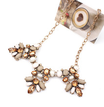 Vintage Kolye Boho Good Quality Hot Pendants Necklaces Gem Charm Brand Chain Maxi Necklace jewelry Lady Necklace sf-66