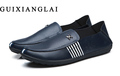 Men Loafers Shoes 2016 Brand genuine leather Causal Driving Shoes flat shoes for men Flat loafers