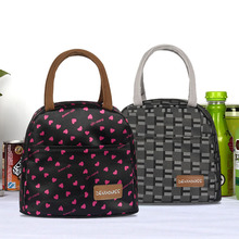 2016 New Cute Carton Lunch Bags For Women 11 Colors Kids Lunch Bag Women'S Handbags Picnic Bolsa Termica Bags