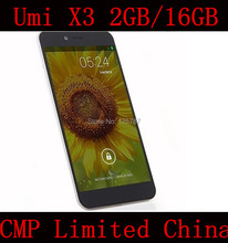 Free Shipping Umi X3 5.5 Inch MTK6592 Octa Core Android 4.2 IPS 1920X1080 2GB RAM 16GB ROM 13MP NFC 3G GPS WIFI Cell Phone(China (Mainland))