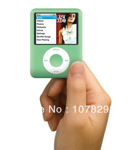 Popular MP4 Player Real 2GB 100pcs/lot 1.8 inch Screen Mp4 Player With Card Slot+Earphone+USB Cable+Crystal Box MINI Mp4 Player(China (Mainland))