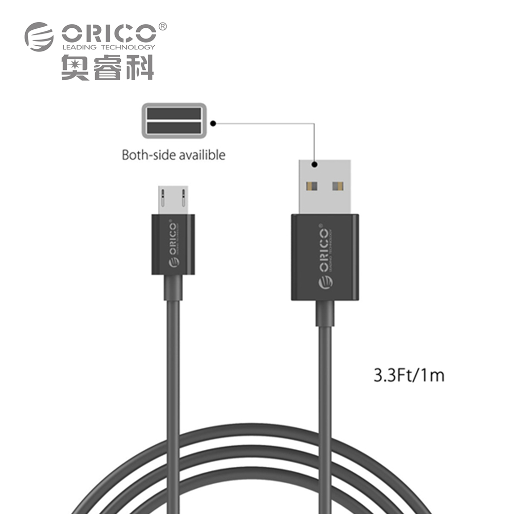 ORICO Micro USB Cable Fast Charge 5V2A 1m Quick Data Sync for Android Mobile Phone Samsung Galaxy S6 S4 S3 LG HTC Sony (BDC-10)(China (Mainland))