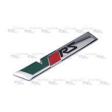 2015 new hot alliage métallique Auto voiture VRS coffre arrière Chrome Badge Emblem Sticker pour OCTAVIA Mk2 voiture style autocollants de voiture