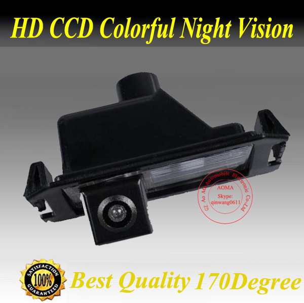 Facory Promotion CCD Car Rear View Parking Reversing Camera 170 Degree For Hyundai I30 Coupe /KIA Soul /K2 RIO(China (Mainland))