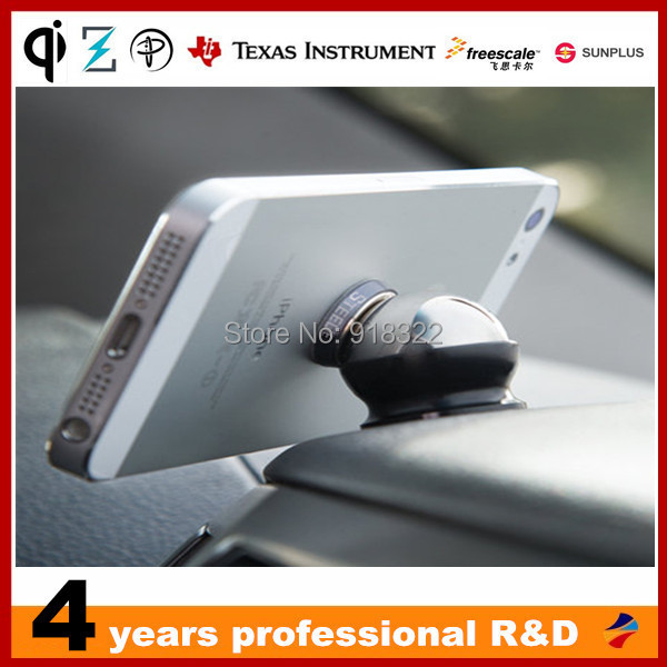 Magnetic Iphone 360 degrees Car Dashboard Mobile Mount Kit mobile Magnet phone holder - QI wireless charger store