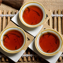Promotion 42years old Top grade Chinese yunnan original Puer Tea 357g health care tea ripe Pu