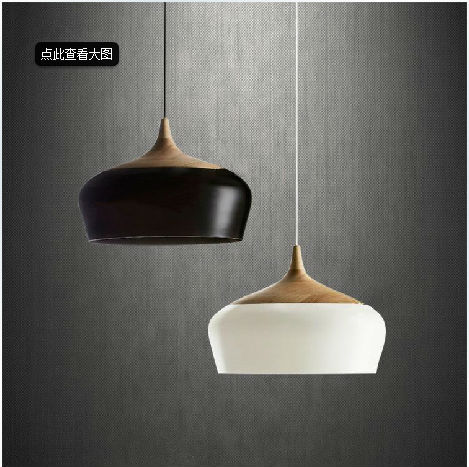 modern Nordic Simple Restaurant Bedroom Japanese-style Wood Creative Bar American Retro Single head Logs Designer Chandelier<br><br>Aliexpress