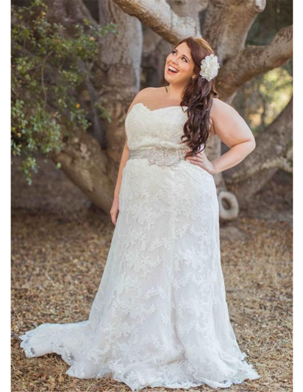 Online Buy Wholesale wedding dresses size 20 plus from China ...