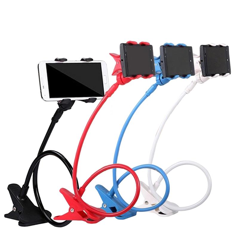 360 Degree Roating Flexible Phone Holder Stand For Mobile Long Arm Holder Bracket Support For Bed Desktop Tablet M8617(China (Mainland))