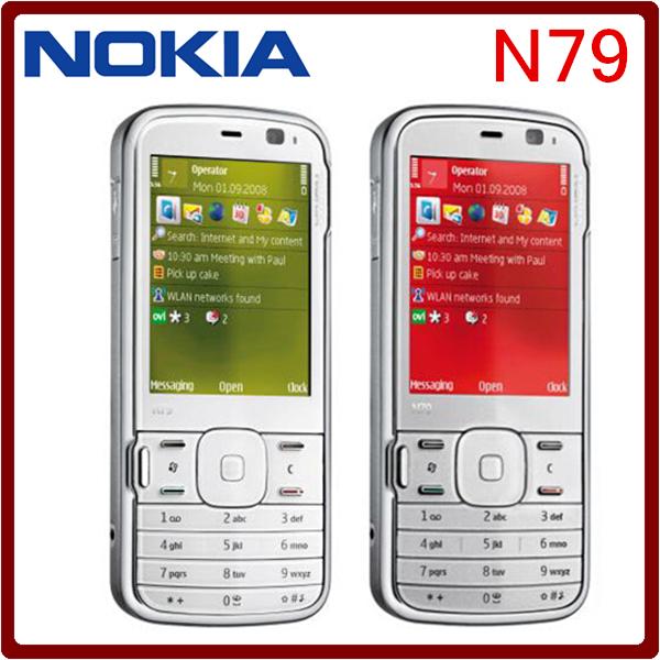 N79 Brand Original Unlocked Nokia N79 Symbian OS v9.3 1200 mAh 5MP 3G Cellphone Free Shipping(China (Mainland))